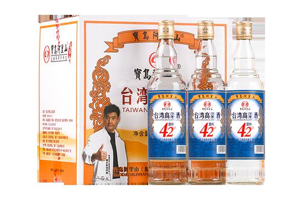 宝岛阿里山高粱酒口粮酒42度蓝标清香 4