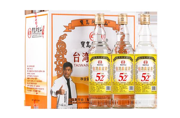 宝岛阿里山高粱酒口粮酒52度金标清香 4
