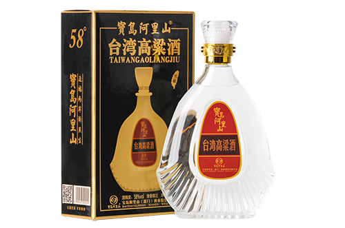宝岛阿里山高粱酒窖藏58度 清香醇正白
