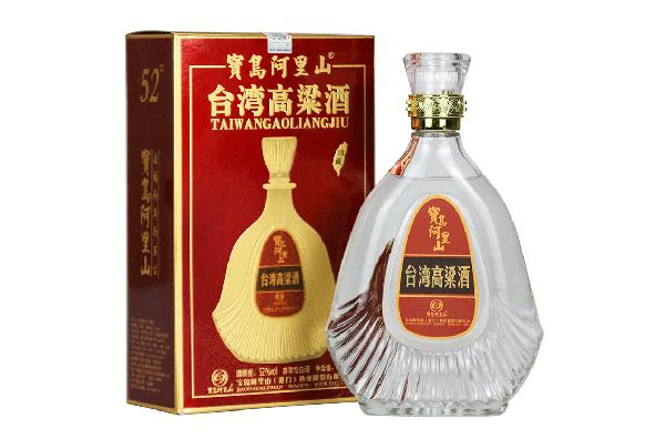 宝岛阿里山高粱酒 珍藏礼盒装 52度浓香