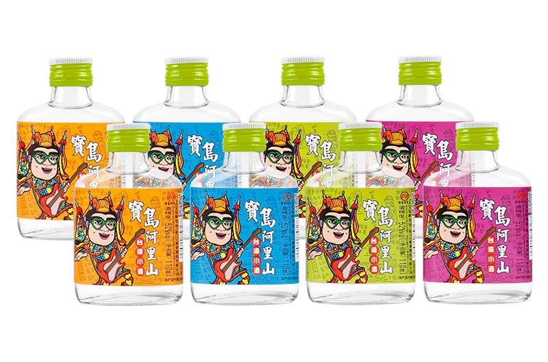 宝岛阿里山台湾青春小酒 绵柔浓香白酒5