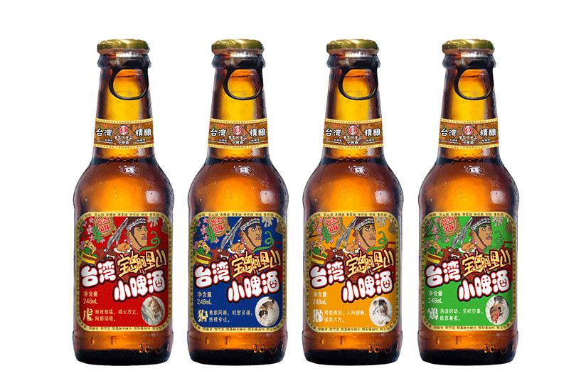 宝岛阿里山台湾风味精酿啤酒4.6% 24