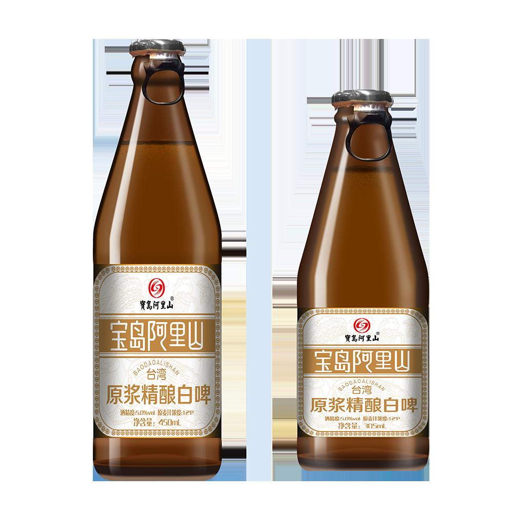 原浆精酿啤酒 台湾风味宝岛阿里山新品啤酒瓶装