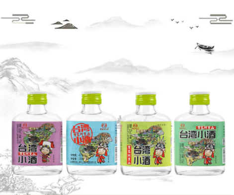 宝岛阿里山台湾高粱小酒 52度绵柔浓香白酒(图2)